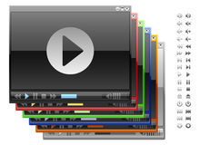 Video-Player. Stockfoto