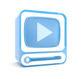 Video player Royalty Free Stock Photography
