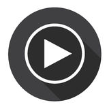 Video Player Interface Icon Button Royalty Free Stock Image