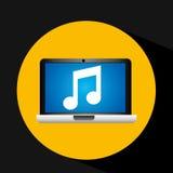Video player social media icons design. Vector illustration eps 10 Stock Photos