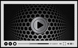Video player for web, Stock Photos