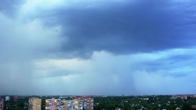 Video in Poltava City in Ukraine stock video footage
