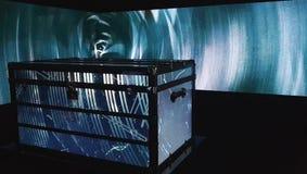 Video presentazione dell'evoluzione e della storia di Louis Vuitton Branding stock footage