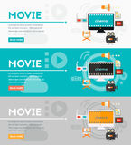 Video Production and Motion Graphic Concept Royalty Free Stock Image