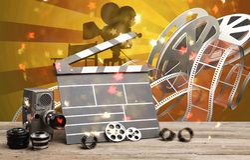 Video produktion arkivbilder