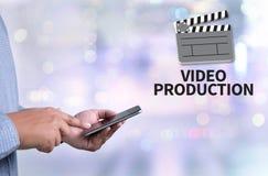 Video produzione fotografie stock