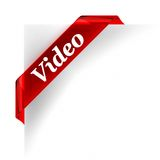 Video Red Royalty Free Stock Images