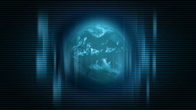 Rotating earth motion background. Video of Rotating earth motion background stock video footage