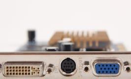 Video scheda del calcolatore immagine stock libera da diritti