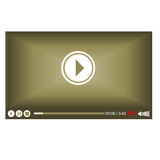 Video screen Royalty Free Stock Photo