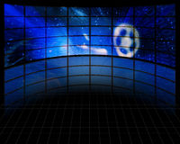 Video Screens. High Resolution Illustration Video Screens Royalty Free Stock Photos