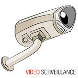 Video Security Camera Royalty Free Stock Images