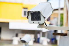 Video Security Camera Royalty Free Stock Photography