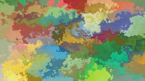 Video senza cuciture macchiato animato astratto del ciclo del fondo - spettro di colore pieno video d archivio