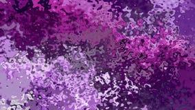 Video senza cuciture macchiato animato del ciclo del fondo - effetto dell'acquerello - colore ultravioletto e leggero scuro della stock footage