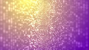 Shimmering particle rain stock video footage