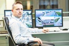 Video sistema di sicurezza di sorveglianza del monitoraggio immagine stock libera da diritti