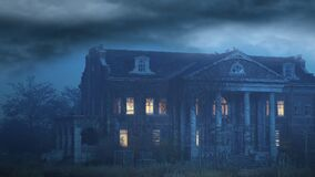 Haunted House, Mansion, Halloween, Scary