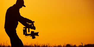 Video Stabilizer Operator Royalty Free Stock Image