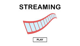 Video streaming concept vector illustration