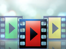 Video streaming Royalty Free Stock Photography