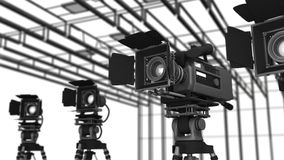 Video Studio stock video footage