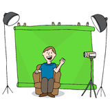 Video Studio Session Stock Images
