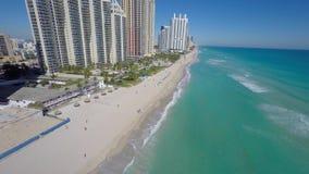 Video Sunny Isles Beach aereo FL video d archivio
