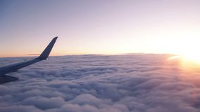 Surfing the Clouds stock video footage