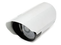 Video surveillance camera Royalty Free Stock Photography
