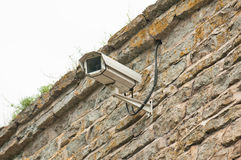 Video surveillance camera Stock Photos