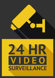 Video surveillance camera Royalty Free Stock Image
