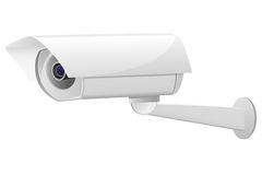 Video surveillance camera vector illustration Royalty Free Stock Image
