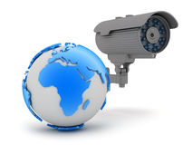Video surveillance camera Stock Photography
