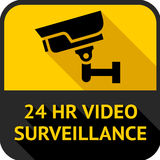 Video surveillance Stock Images