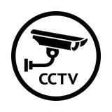 Video surveillance symbol, Stock Images