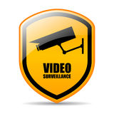 Video surveillance Royalty Free Stock Photography