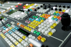 Video Switcher Stock Photo