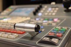 Video switcher Royaltyfria Foton