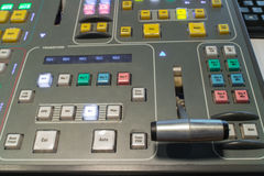 Video switcher Royalty Free Stock Photos