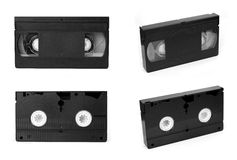 Video tape. Isolated on white background Royalty Free Stock Photo