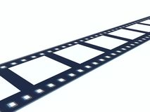 Video tape. For projection equipment Royalty Free Illustration
