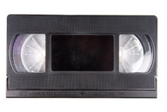 Video tape casette isolated Stock Photo