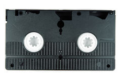 Video tape cassette isolated Royalty Free Stock Photos