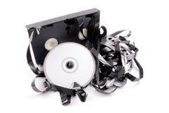 Video tape a DVD Imagem de Stock