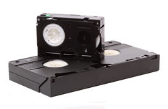 Video tape format HVS Royalty Free Stock Photo