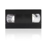 Video tape (isolado no branco) Imagens de Stock