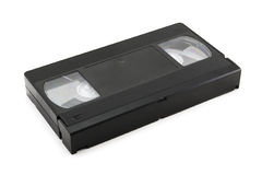 Video Tape (isolated on white) Stock Image