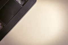 Video Tape on the Paper Royalty Free Stock Images