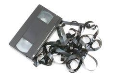 Video tape Tangled foto de stock